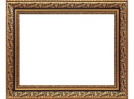 Багетная рама 2322-BB Melissa (коричневый+золотой) (для работ размером 40*50 см)