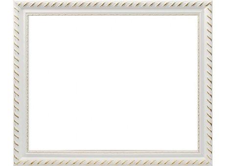 Багетная рама 1595-BL Kleopatra (белый) (для работ размером 30*40 см)