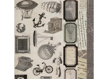 """078-SB Набор бумаги """"География"""""""