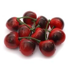 4600-SB Ягоды черешни 2.5 см. 10 шт. красный